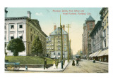Vintage Downtown Portland, Oregon Print