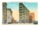 Genesee and Washington Streets, Syracuse, New York Posters