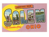 Greetings from Salem, Ohio Poster