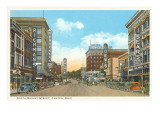 North Market Street, Canton, Ohio Poster