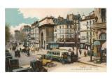 St. Martin Boulevard, Paris Posters