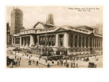 Public Library, New York City, Photo Prints