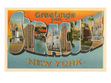 Greetings from Syracuse, New York Print