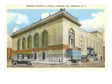 Brooklyn Academy of Music, New York City Print