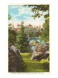 Mohonk Mountain House, Mohonk Lake, New York Kunstdrucke