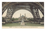 Foot of Eiffel Tower, Paris Prints