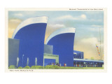 Marine Transportation Building, New York World's Fair, 1939 Posters
