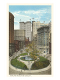 Bowling Green, New York City Print