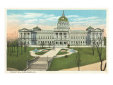 State Capitol, Harrisburg, Pennsylvania Prints