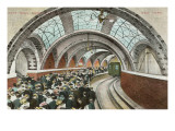 City Hall Loop Station, New York City Print