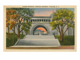 Stadium Entrance, Syracuse University Prints