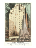 Hotel Plymouth, New York City Posters