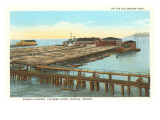 Salmon Cannery, Astoria, Oregon Print