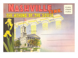 Postcard Folder, Nashville, Tennessee Posters