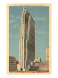 RCA Building, Rockefeller Center, New York City Posters
