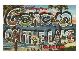 Greetings from Geneva on the Lake, Ohio Prints