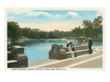 Lake, Central Park, New York City Print