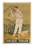 Taste and Conpare, Chocolate Advertisement Prints