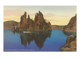 Phantom Ship, Crater Lake, Oregon Prints
