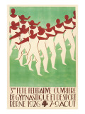 Swiss Gymnastic Poster Posters