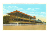 Race Track, Saratoga Springs, New York Art