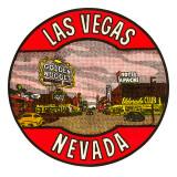 Las Vegas Logo, Golden Nugget, Nevada Posters