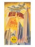 New York, the Wonder City, Skyscrapers Kunstdrucke