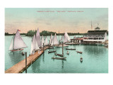 Yacht Club, Portland, Oregon Prints