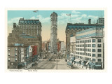 Early View of Times Square, New York City Prints