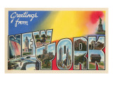 Greetings from New York Prints