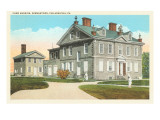 Chew Mansion, Germantown, Philadelphia, Pennsylvania Posters