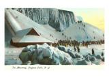 Ice Mounting, Niagara Falls Art