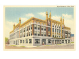 Akdar Masonic Temple, Tulsa, Oklahoma Prints