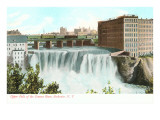Upper Falls, Genesee River, Rochester, New York Prints