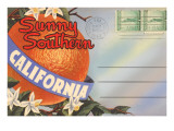 Postcard Folder, Sunny Southern California Art