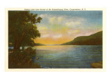 Otsego Lake, Susquehanna River, New York Prints