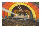 Stage, Radio City Music Hall, New York City Posters