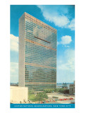 United Nations Building, New York City Poster