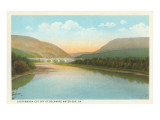 Lackawanna Cutoff, Delaware Water Gap, Pennsylvania Prints