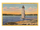 Rock Island Lighthouse, Thousand Islands, New York Prints