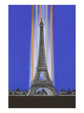 Art Deco Eiffel Tower Posters