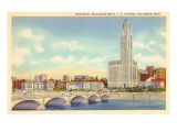 Municipal Buildings, Columbus, Ohio Prints