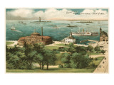 Old View of Battery Park, New York City Prints