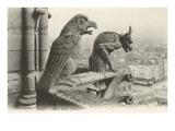 Gargoyles at Notre Dame, Paris Posters