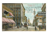 Washington Street, Portland, Oregon Prints