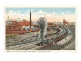 Rail Yards, Philadelphia, Pennsylvania Prints