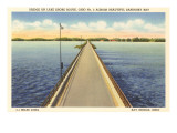 Bridge Across Sandusky Bay, Ohio Posters