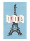 Pair, Eiffel Tower Posters