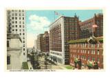 Fourth Street, Tulsa, Oklahoma Print