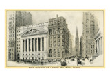 Stock Exchange, Wall Street Posters